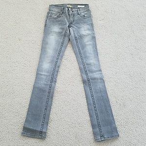 Tag grey skinny jean
